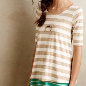 Anthropologie Puela Striped Top